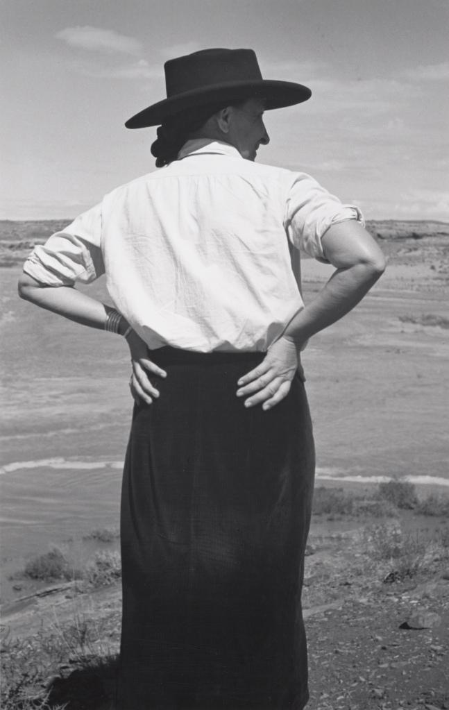 Georgia O'Keeffe by Ansel Adams