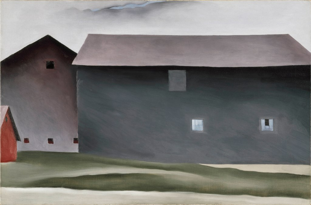 Lake George Barns Georgia O'Keeffe