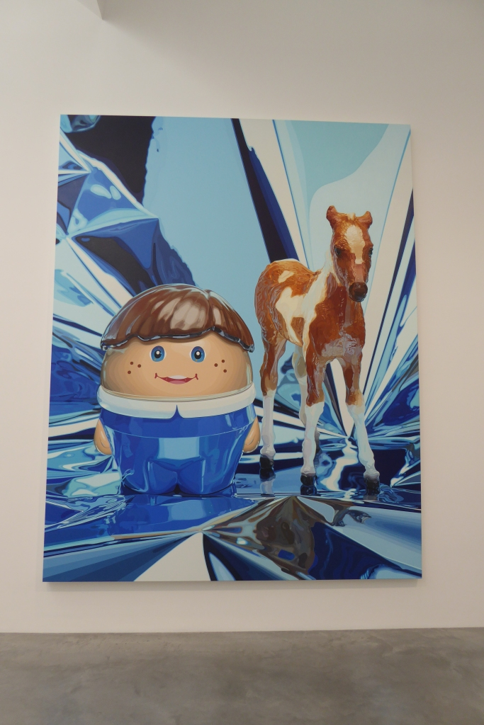 Jeff Koons Newport Gallery London