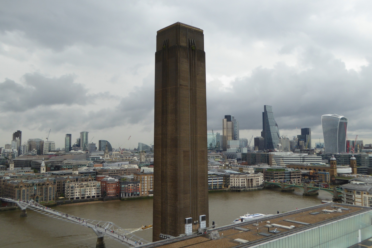 Tate Modern London extension view