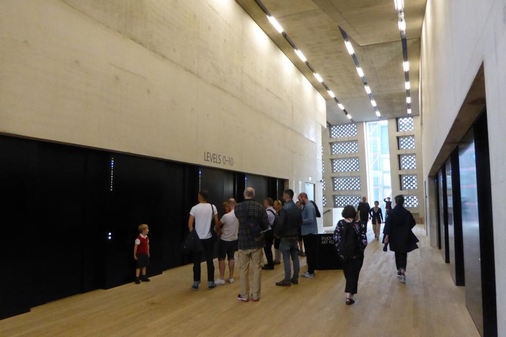 Tate Modern London lifts