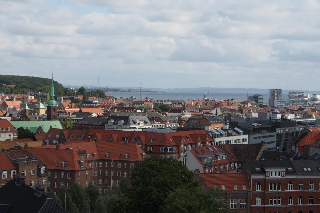 Aarhus aerial view