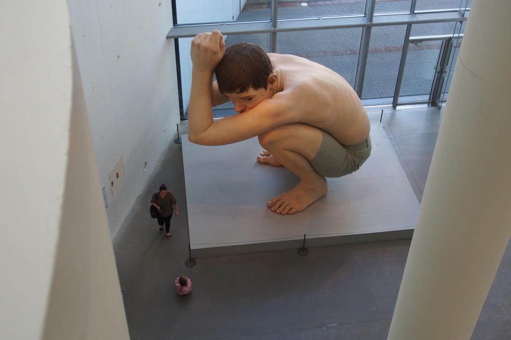 Aarhus gallery- Ron Mueck