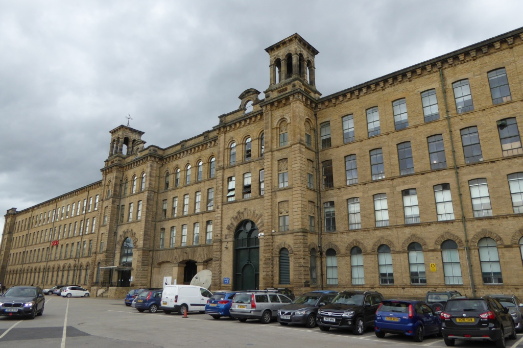 Saltaire shops at Salt's Mill