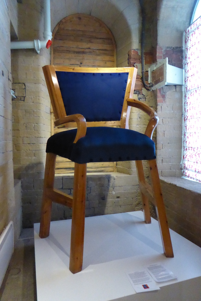 David Hockney high chair Saltaire