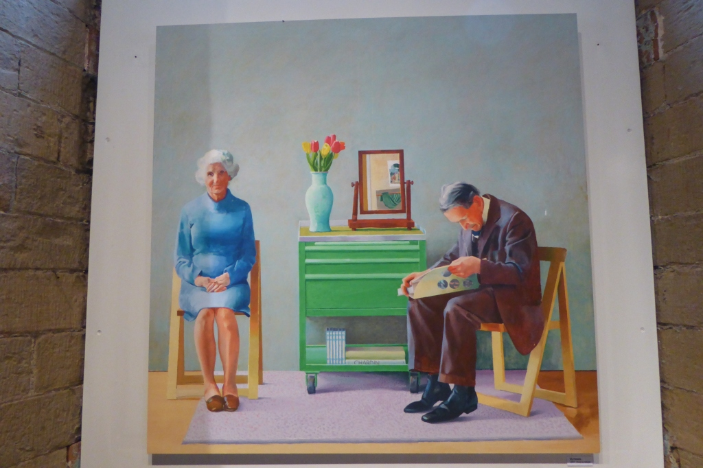 Hockney painting Saltaire