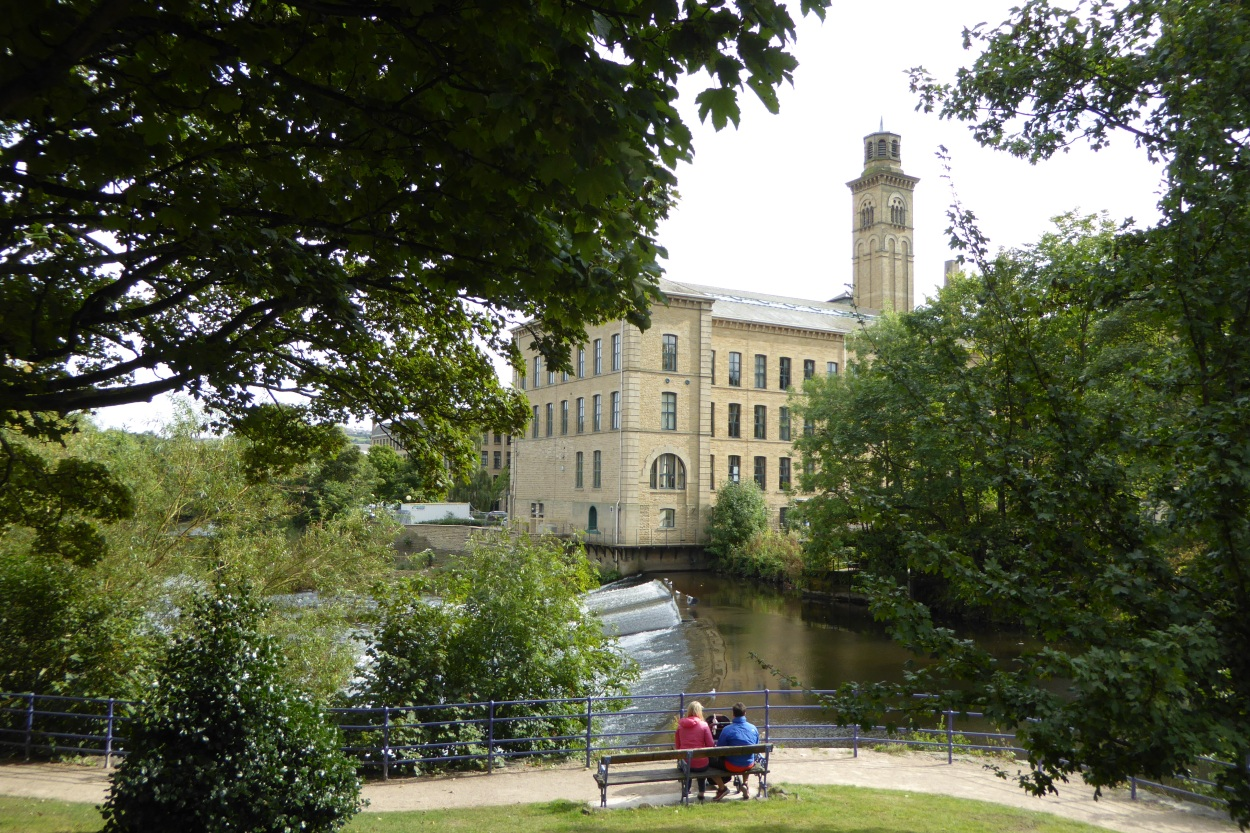 Salt's Mill Saltaire Hockney