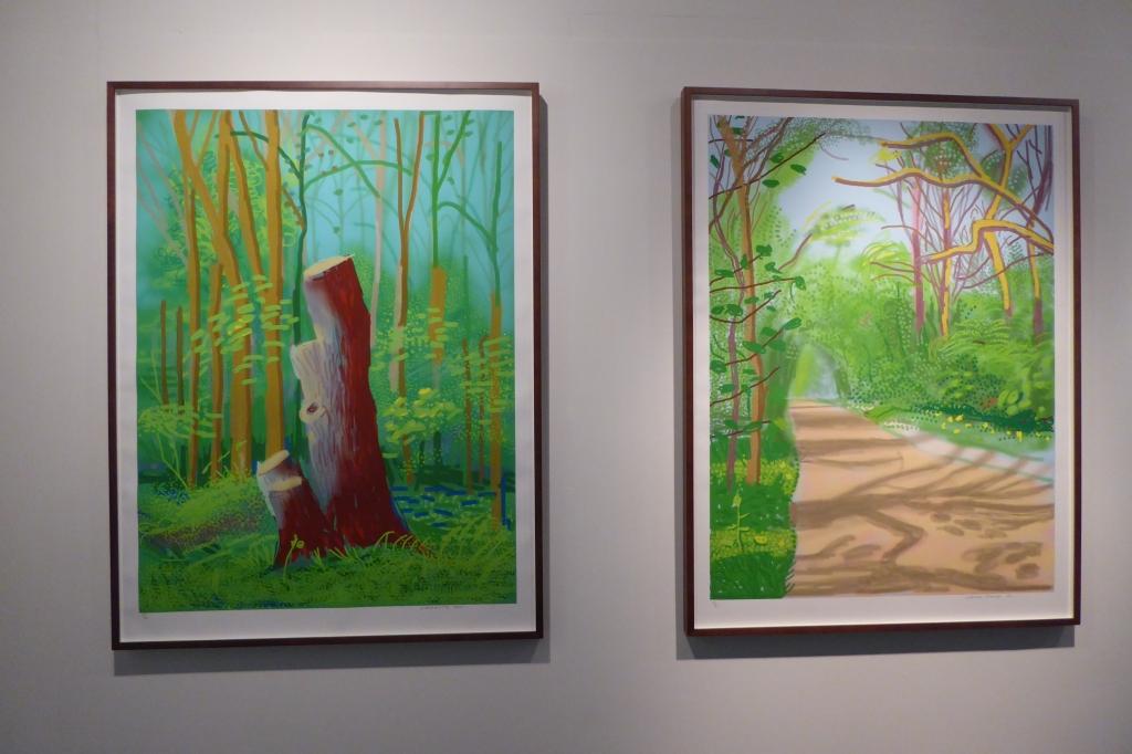 Hockney - Arrival of Spring