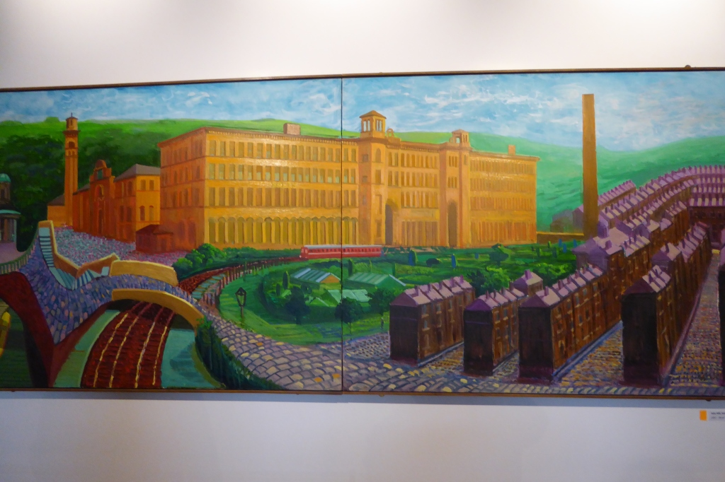 Hockney and Salt's Mill - Saltaire