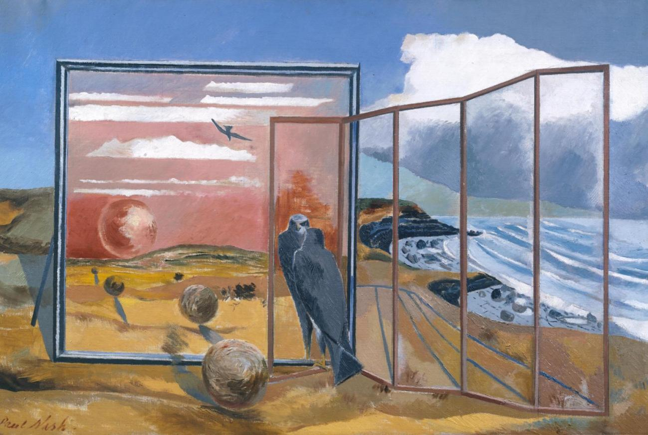 Landscape from a Dream 1936-8 Paul Nash 1889-1946 Presented by the Contemporary Art Society 1946 http://www.tate.org.uk/art/work/N05667