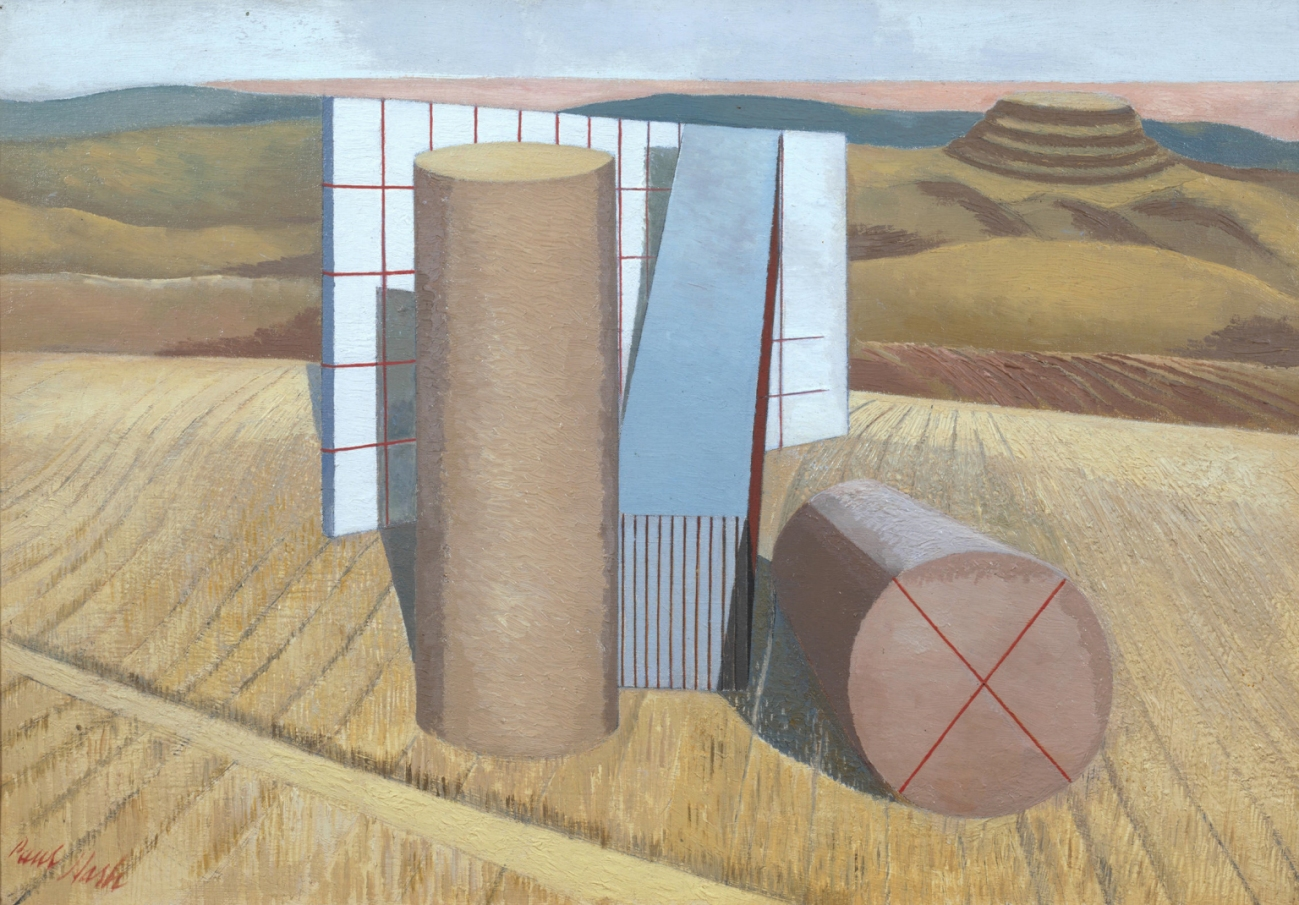 Equivalents for the Megaliths - Paul Nash c/o Tate London
