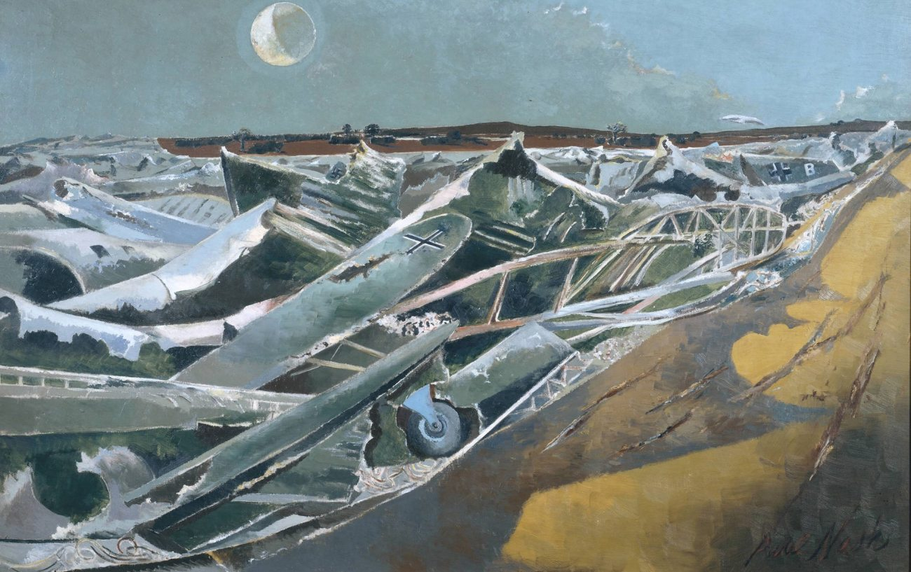 Detail from Totes Meer (Dead Sea) (1940-41), by Paul Nash. Photograph: Paul Nash/©Tate