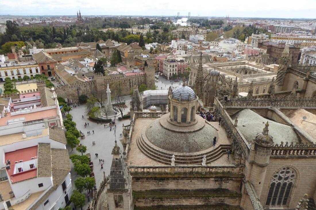 Seville aerial