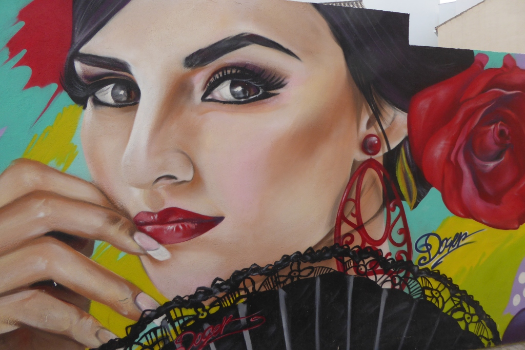 Flamenco mural