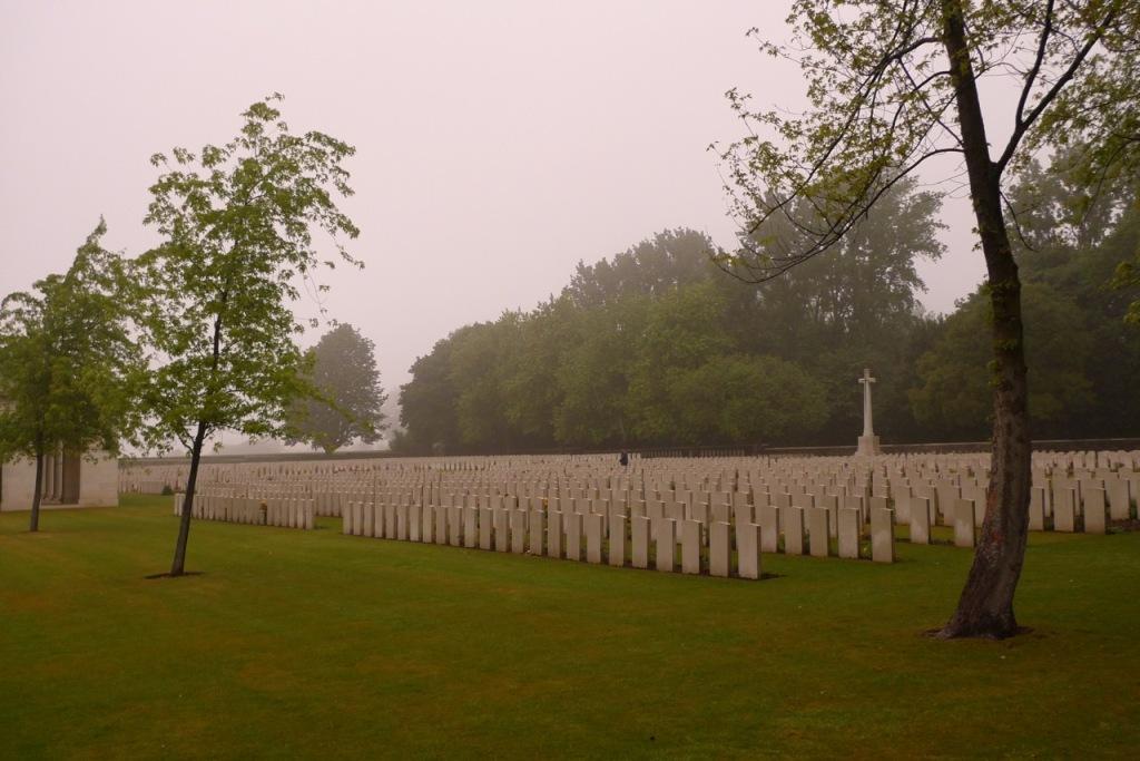 Vimy war cemetery