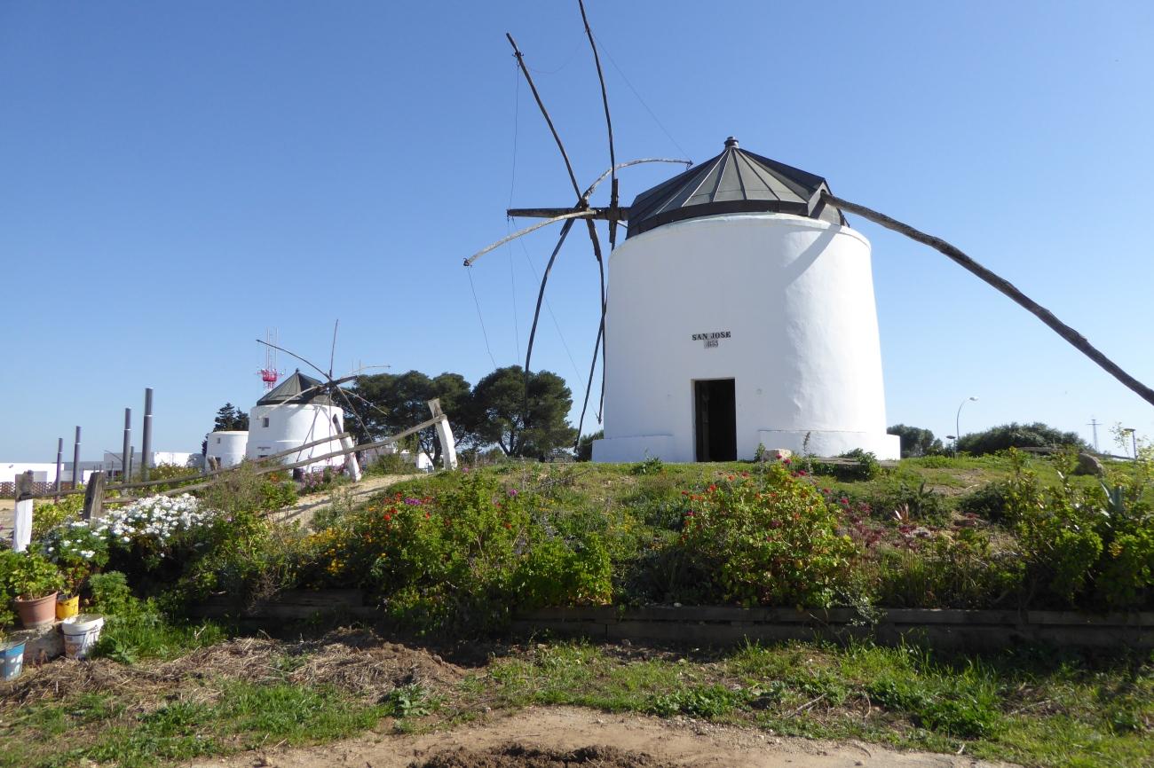 Vejer de la Frontera windmill