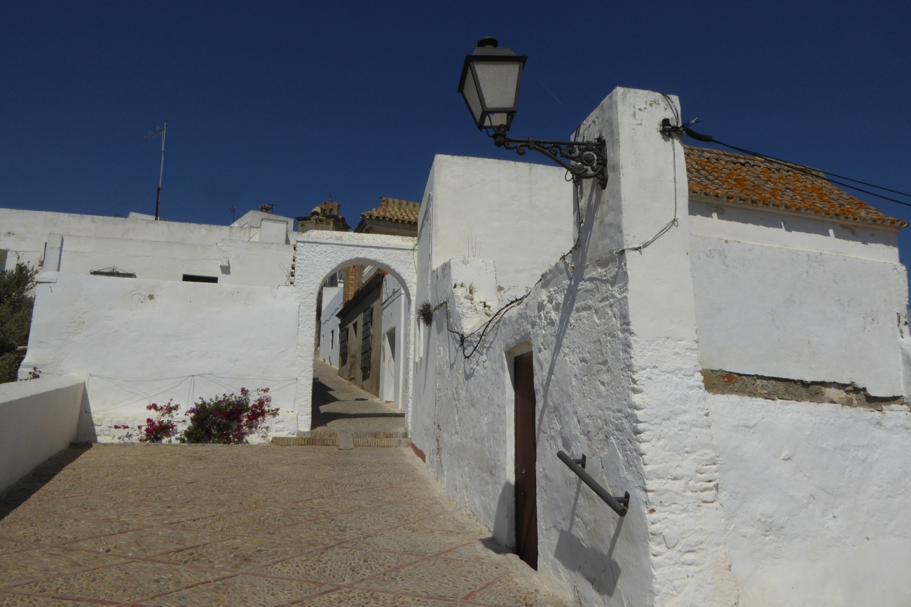 White town Spain