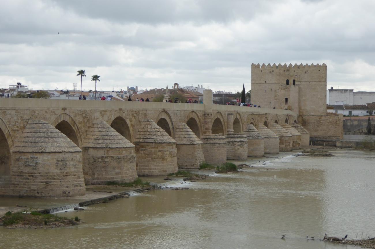 Cordoba bridge and river