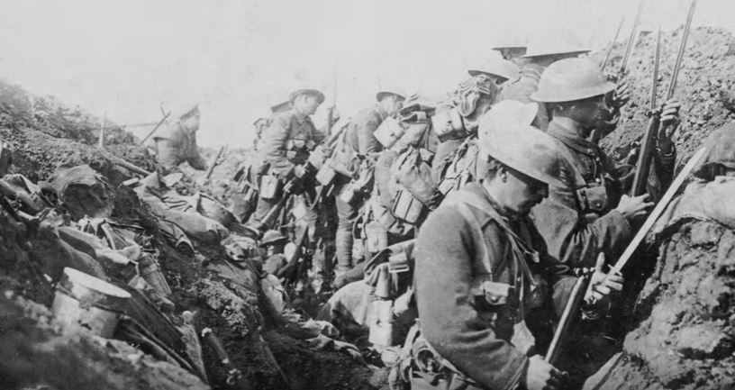 Vimy Ridge battle c/o Library and Archives Canada