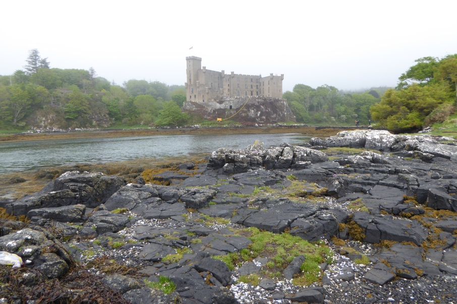Dunvegan Castle in the mist