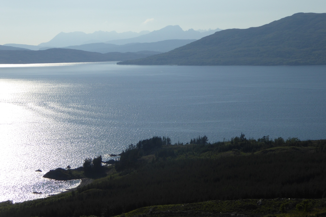 Skye sea view