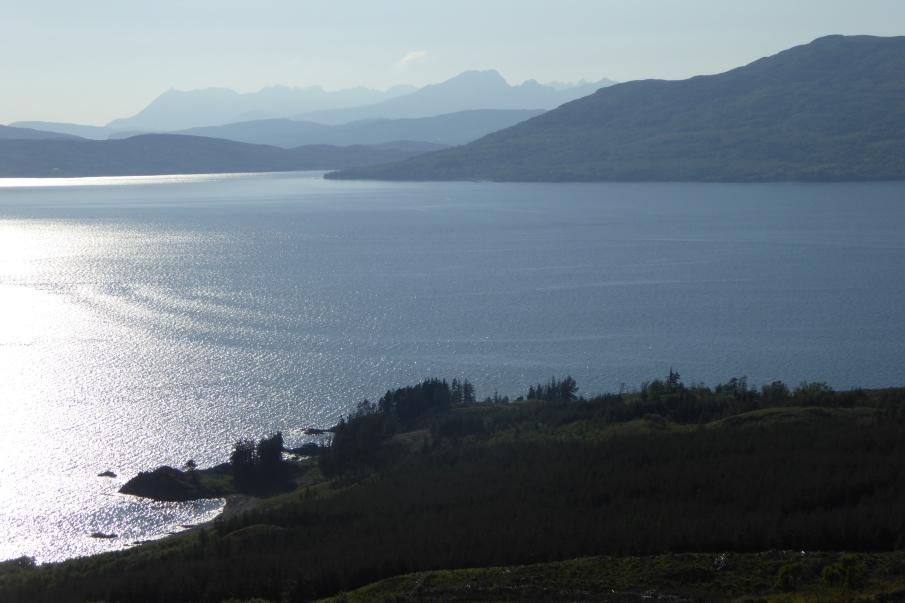 Skye sea view