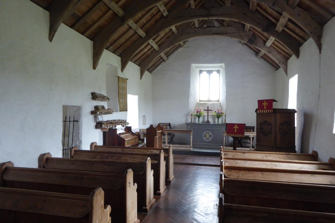 Mwnt Wales chapel