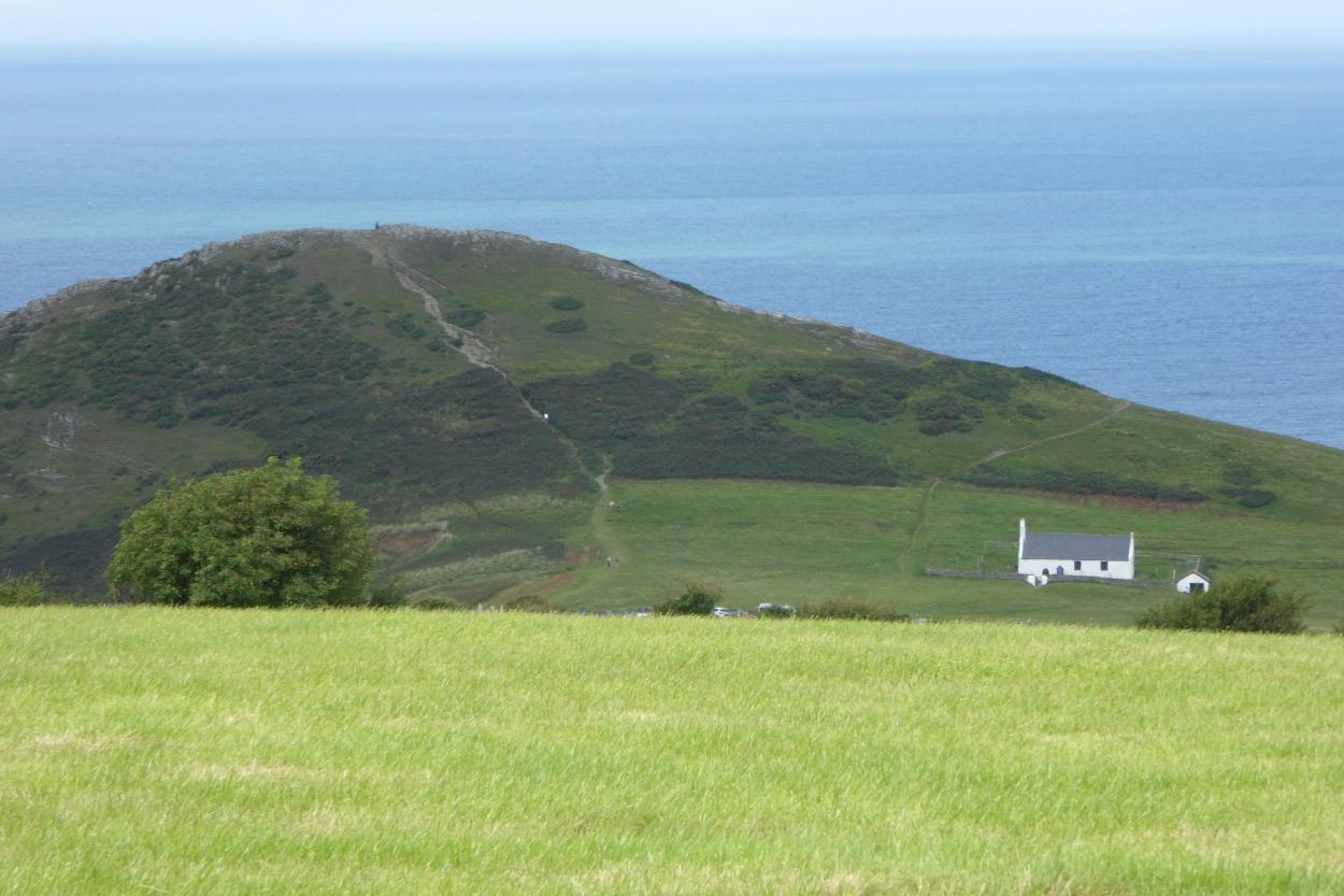 Mwnt Wales camper van