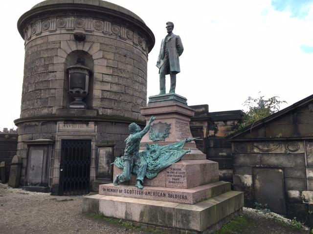 Edinburgh - Calton Hill - Cemetary