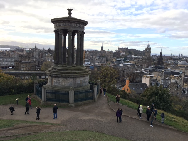 Edinburh's Calton Hill