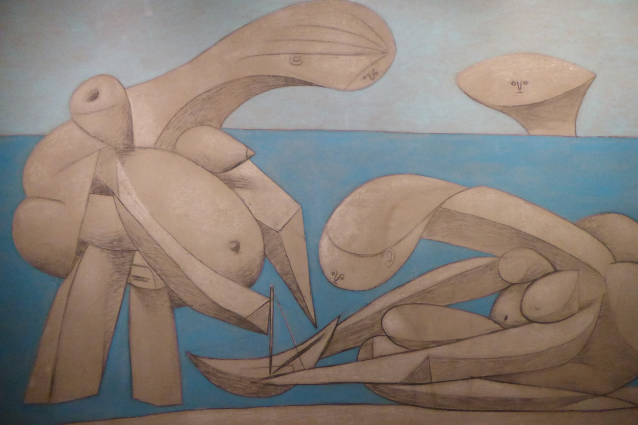 Picasso On the Beach Peggy Guggenheim Museum Venice