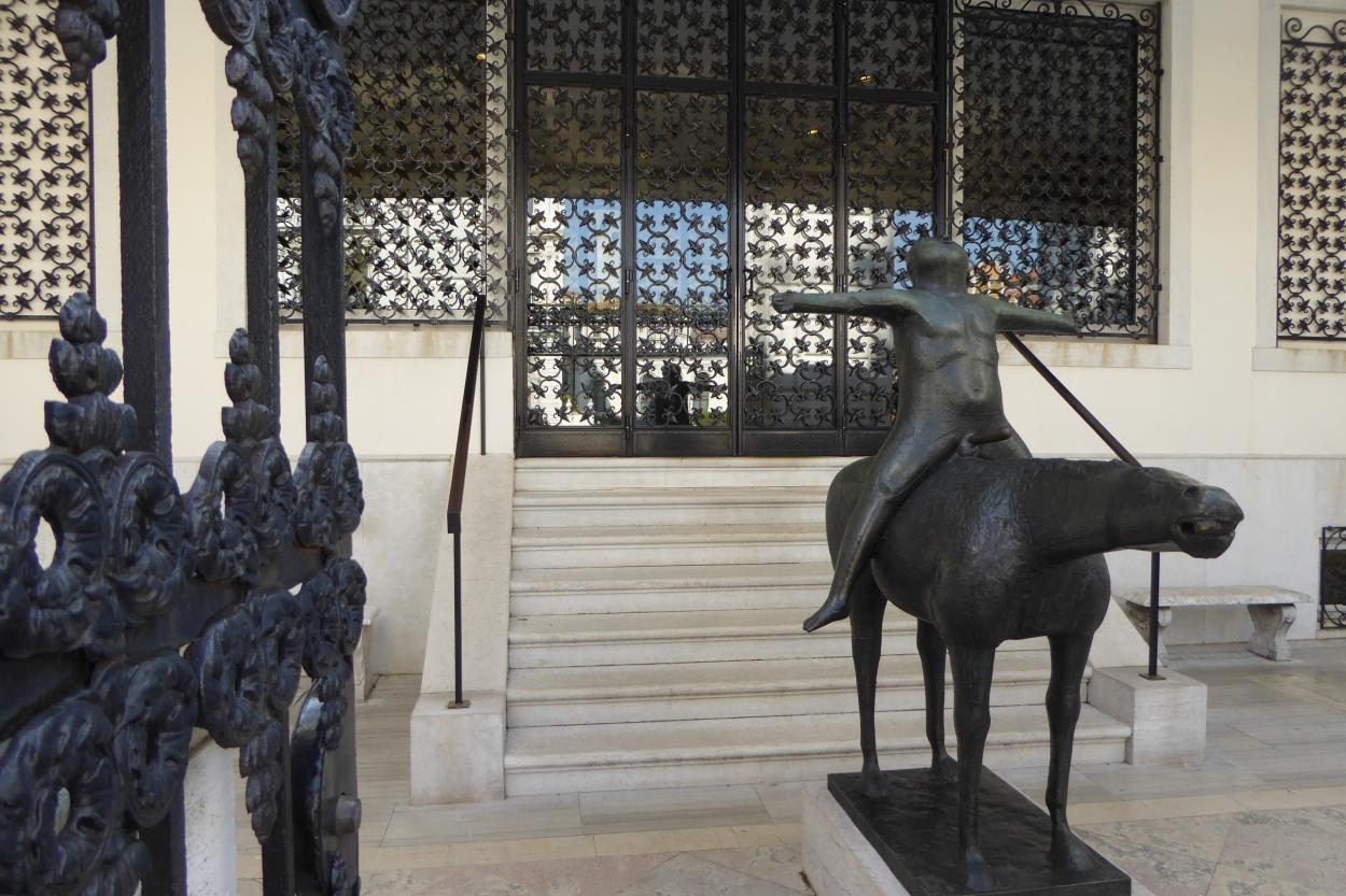 Peggy Guggenheim Museum Venice Man on a Horse