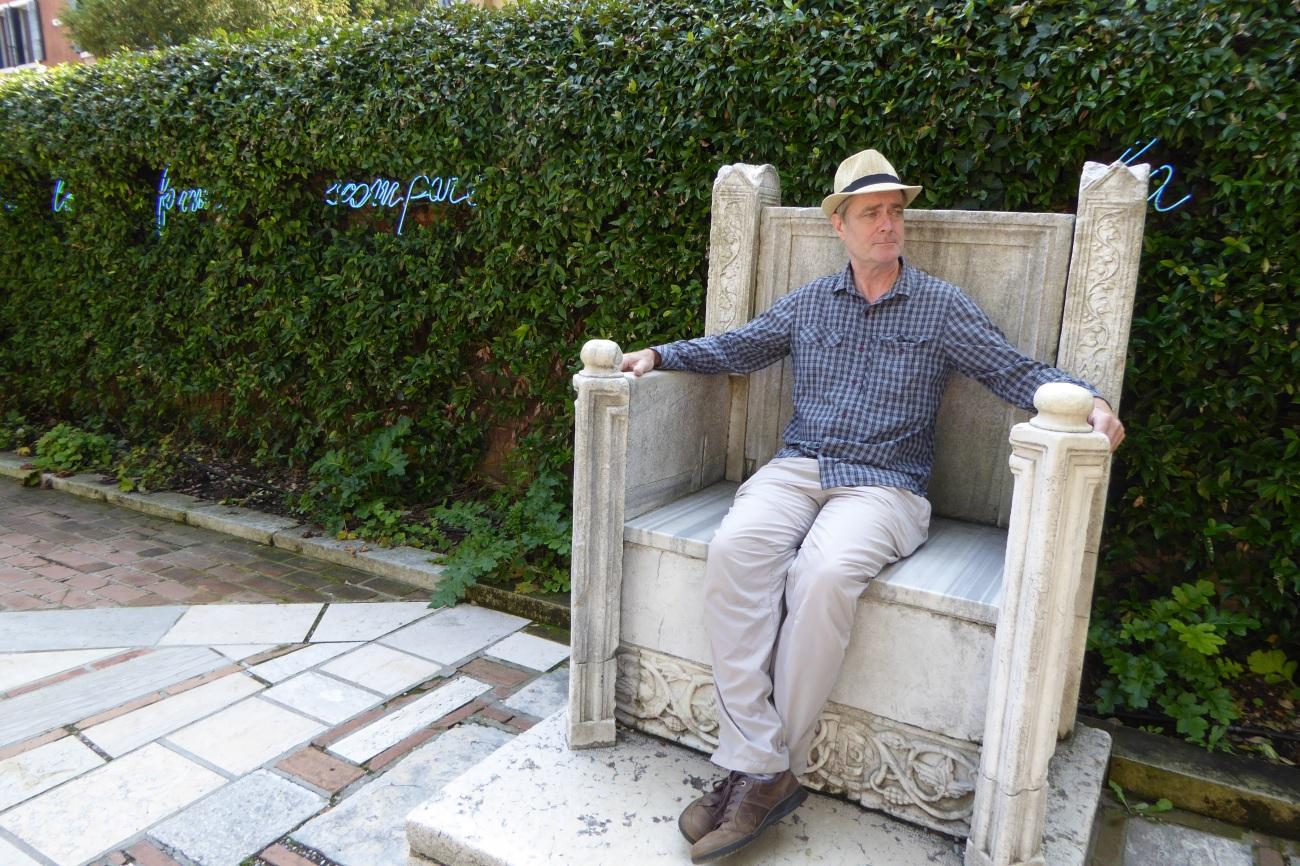 Peggy Guggenheim garden Venice