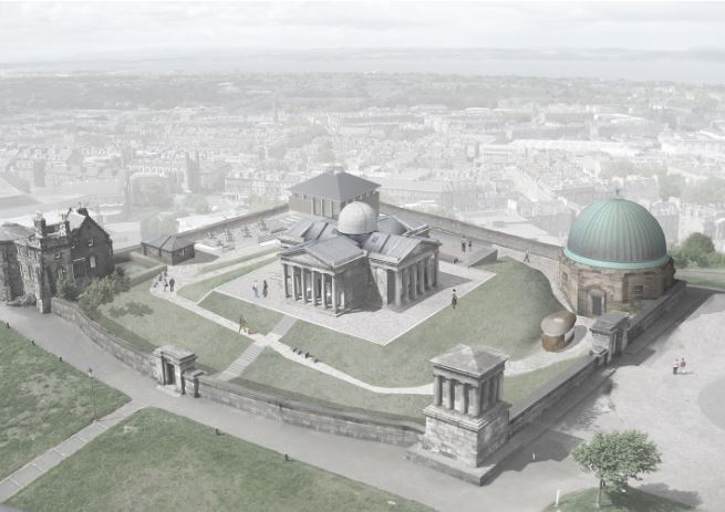Image courtesy of Malcolm Fraser Architects.. Edinburgh Observatory development