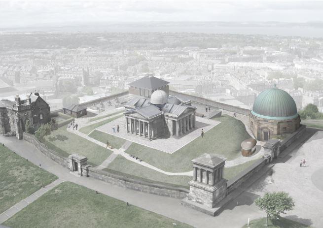 Image courtesy of Malcolm Fraser Architects.. Edinburgh Observatory development