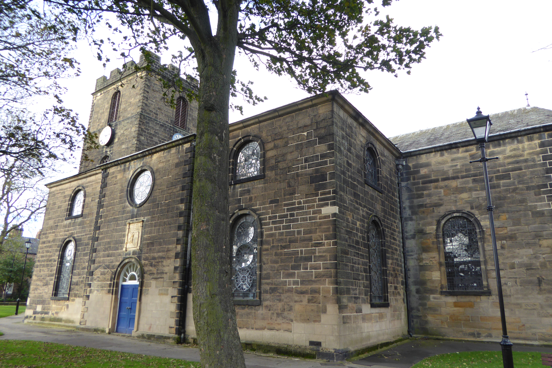 North Shields church