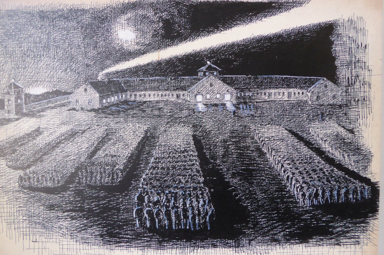 Dachau drawing
