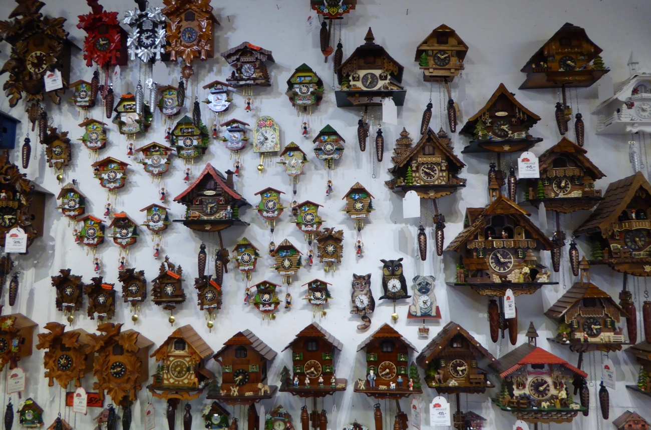 Cuckoo Clocks - Black Forest Germany