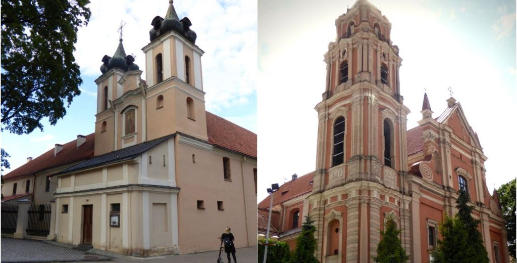Vilnius is famous for its churches