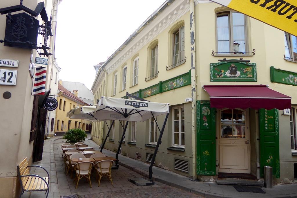 Vilnius cafe