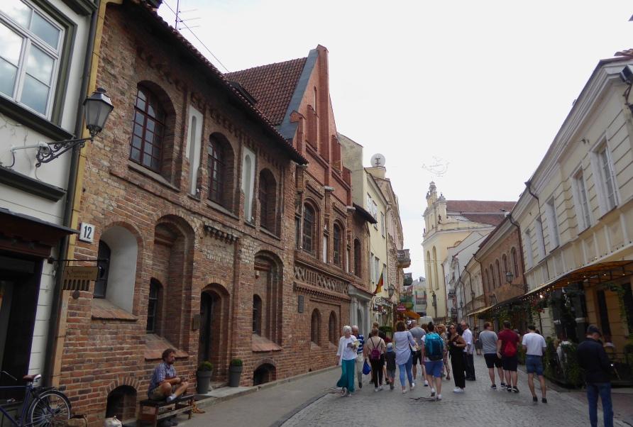 Vilnius - Pilies Street