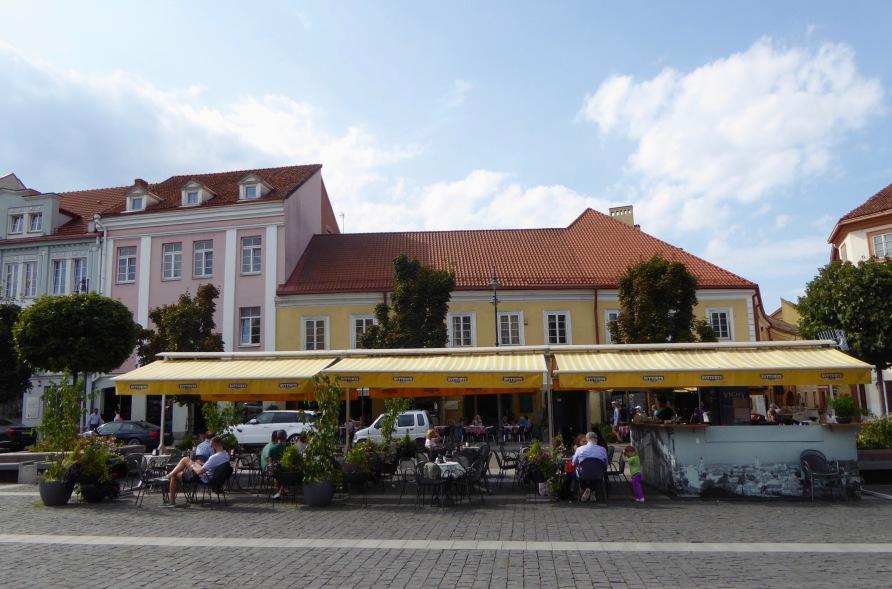 Vilnius Town hall Square area