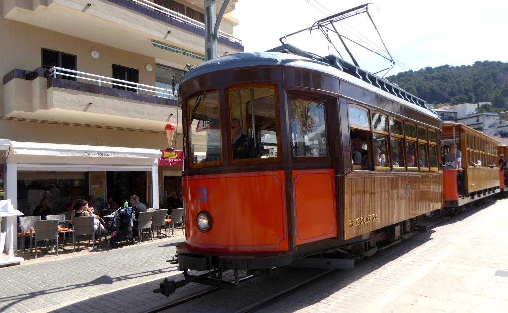 Mallorca tram Soller