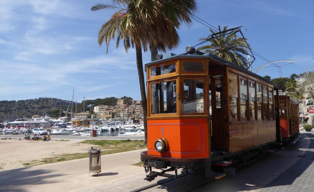 Soller Mallorca tram