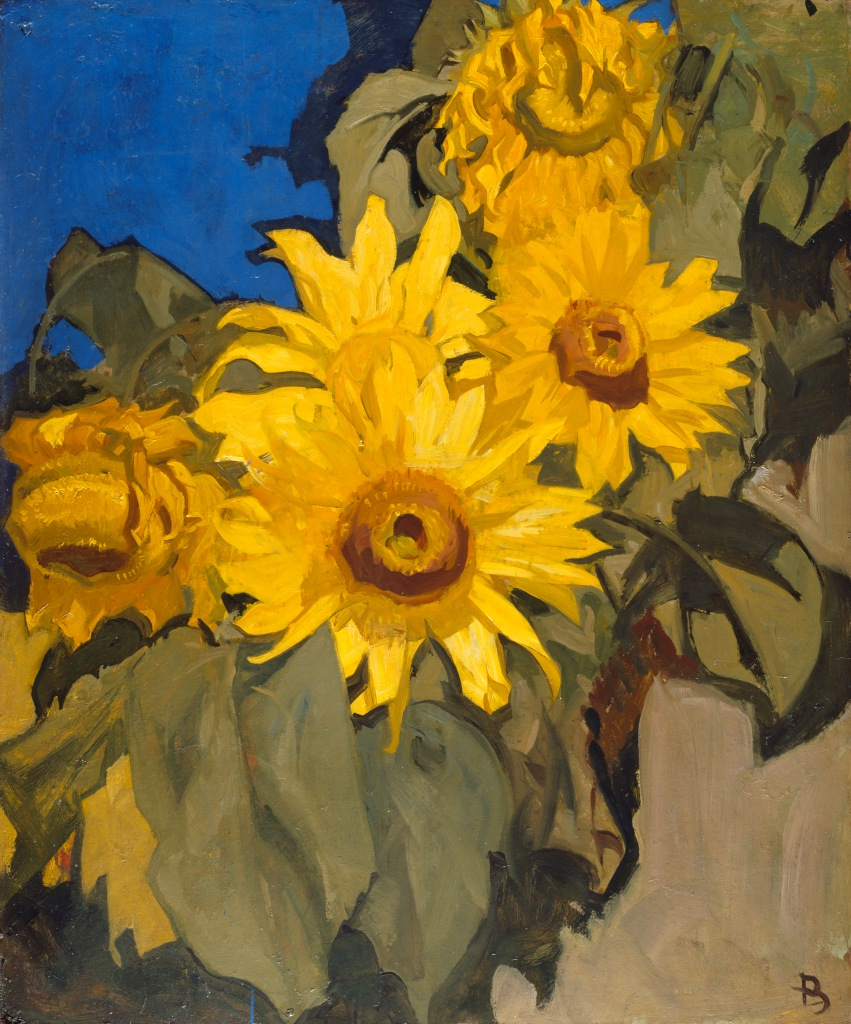 Frank Brangwyn - Sunflowers
