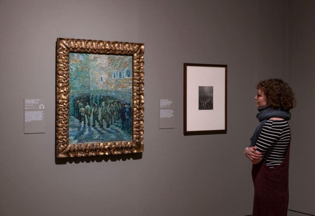 Van Gogh prison painting