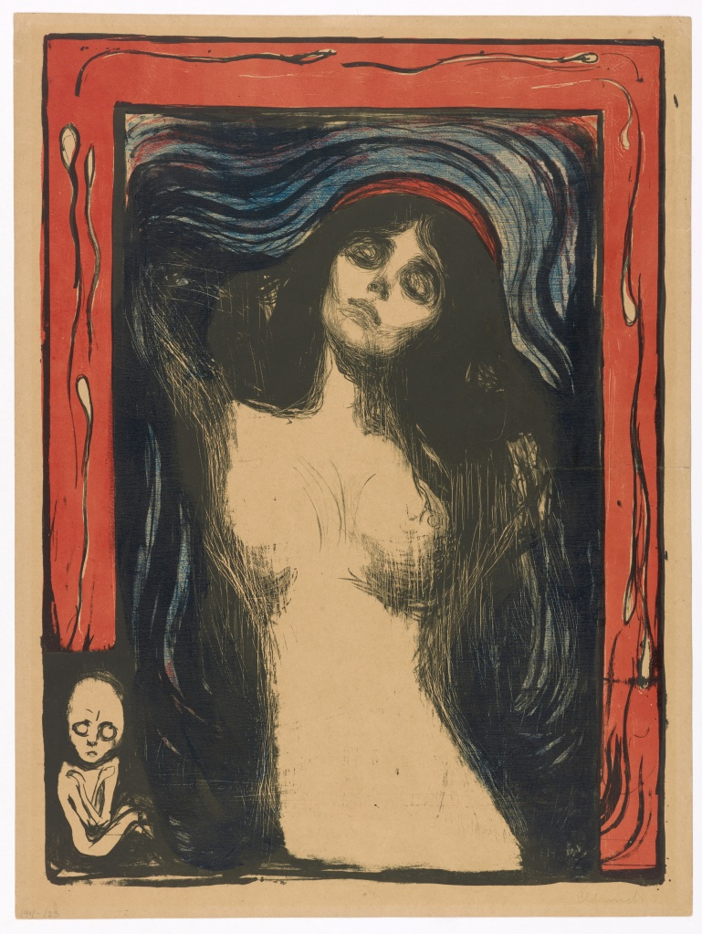 Madonna by Munch