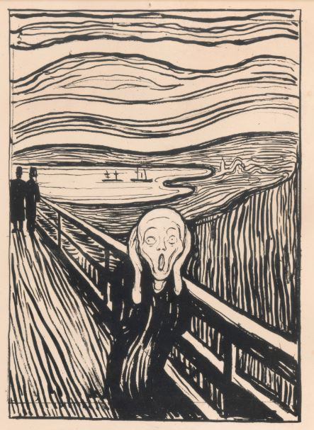 Munch The Scream print