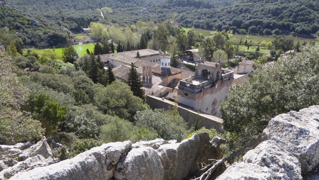 Lluc panorama Mallorca