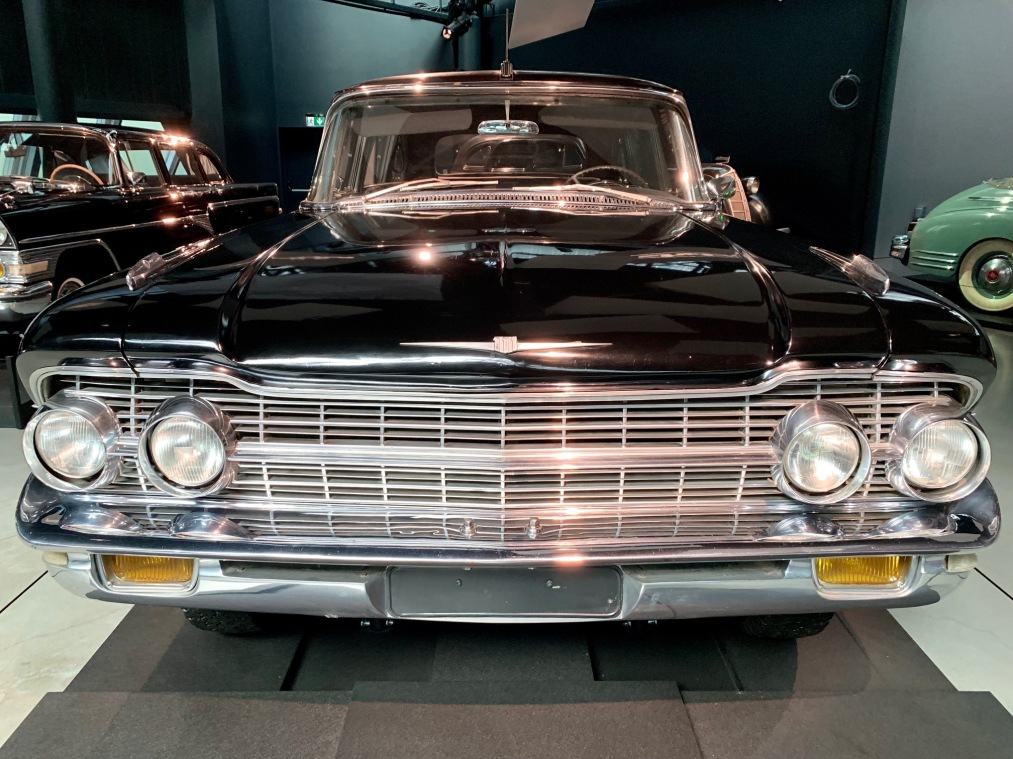 Riga Motor Museum KGB car